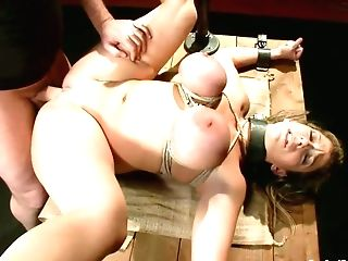 Hot Mom With Massive Mammories In Shinju Gets Tormented With...