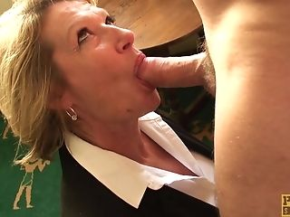 Hot Blonde Minx Gets Her Cock-squeezing Honeypot Fucked Hard And...