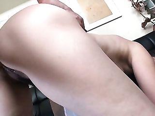 Fairly Bootyful Sexy Japanese Gal Kyoko Yoshino Leaps On Stiff...