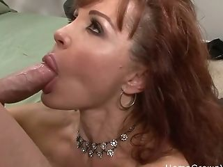 Matures Sandy-haired With Big Tits Fucked By A Youthfull Stud