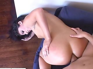 Big Bottomed Bitch Sugary Lopez Gets Her Bunghole Rammed
