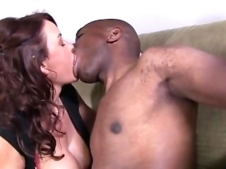 Janet Mason Attempts Mandingo's Thick Black Meatpipe
