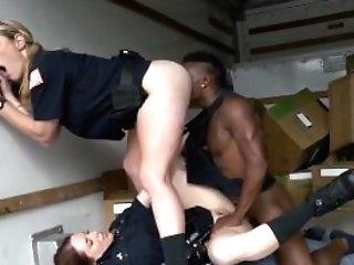 Big Black Knob Hotwife Inexperienced And Black Woman Gets Fucked In...