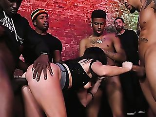 Real Whore Jennifer Milky Gets Her Crevasses Drilled Truly Hard By...