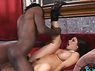 Real Buxom Black Head Goes Interracial For Xxx Big Black Cock Foray...