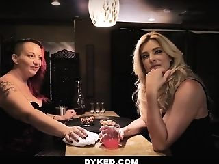 Dyked - Hot Lesbos Fuck After Last Call