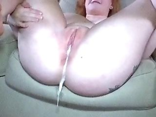 Milky Bbw Gets A Mean Internal Cumshot That's She's Always Dreamed