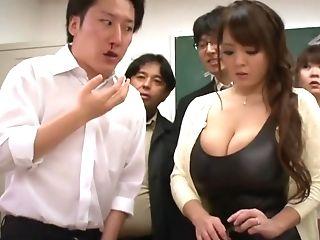 Big-bosomed Asian Matures Porno Clip - Hitomi Tanaka