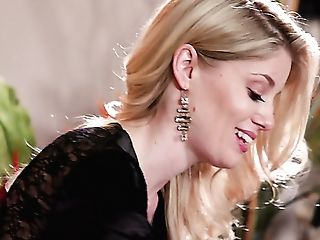 Lovely And Hot Caucasian Beauty Charlotte Stokely Desires To Love...