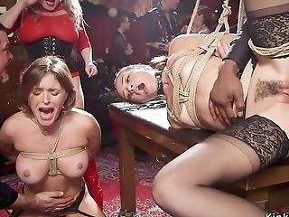 Interracial Group Fucking Supremacy In Tying
