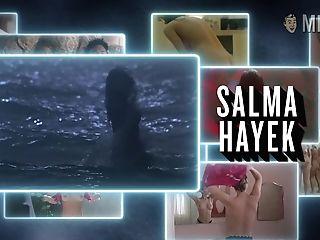 Salma Hayek Naked Bosoms Compilation Flick