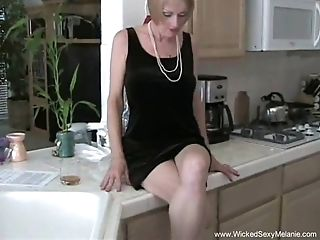 Horny Granny Likes To Get Naked And Fucked Hard From The Shocking