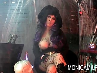 Halloween in Norway with MonicaMilf