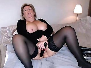 Big-chested Matures Masturbating On Webcam