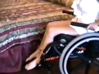 Paraplegic Woman