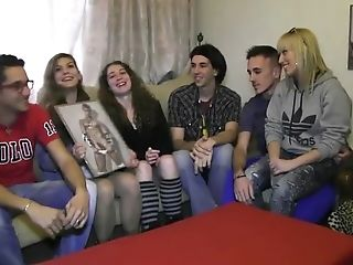 A Teenage Get Together All Of A Sudden Turns Into An Oiled Racy Orgy