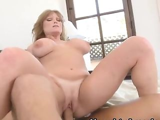 Freckled Lengthy Haired Sandy-haired With Humungous Tits Wearing...