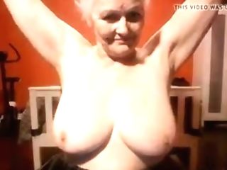 This Granny Looks Good For Her Age And She Likes To Showcase Off...