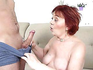 Brief Crimson Haired Matures Super-bitch Marsha Is Still Good At...