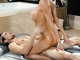 Supah Sexy Cougar Alexis Fawx Is The Best Masseuse Who Knows How To...