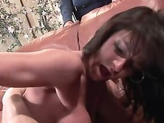 Matures Wifey Sarah Bricks Gets Drilled In Front Of Her Passive...