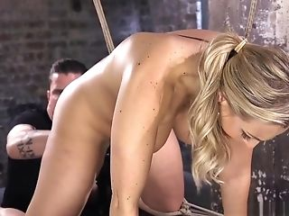 Domination & Submission Cougar Gets Her Coochie Dildoed And Toyed