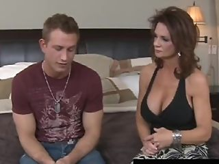 Huge-chested Southern Mummy Deauxma Blows & Bangs A Youthful...