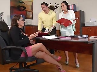 Laura Orsolya And Patty Michova - Hot 3some Pornography