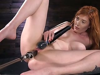 Killing Hot Crimson Head Lauren Phillips Is Testing Fresh Sex Machine