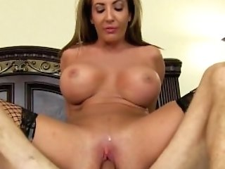Richelle Tempts Her Trainer And Licks His Butthole Before Railing Dick