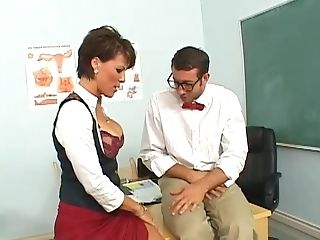 Clever Student In Bow Tie Uncovers His Hump Abilities In Class