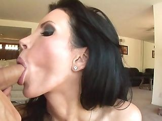 Raven Haired Matures Proves She Still Got Her Cock Blowing Abilities