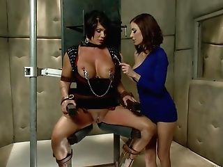 Dark Haired Matures Fuckslut In Restrain Bondage Gets Used By A...