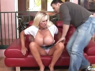 Blonde Cougar Gets A Gonzo Fuck