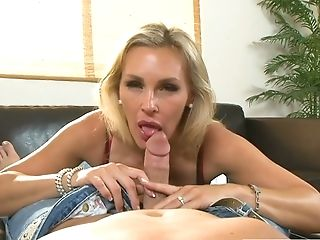 Skilled Adult Model Tanya Tate Does Her Best In Hot Point Of View Clip