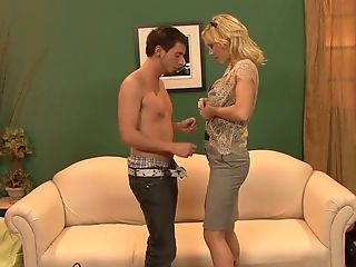 Blonde Mommy Holly Sampson Gets Intimate With Her Stepson