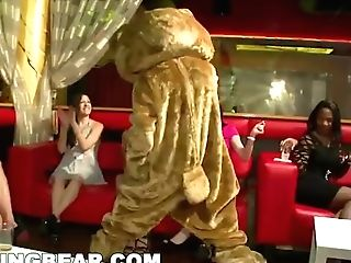 Dancing Grizzly - This Night Club Is On Fire! Gals Sucking Dick All...