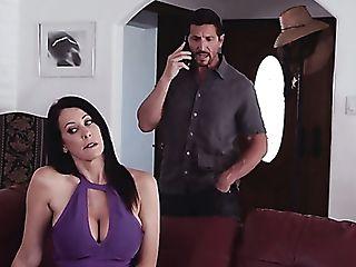 Amazing Dark Haired Silvia Saige Deepthroats Dick And Her Raw Twat...