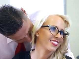 Carla Cox Group Shagged In The Office