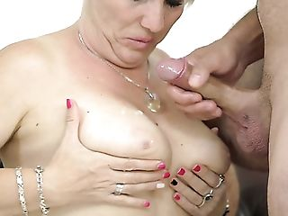 Matures Chubby Blonde Whore Bibi Pink Wanna Get Her Feet Sucked By...