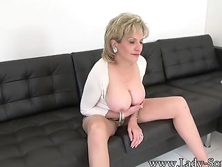 Aunt-in-law Lady Sonia Making A Special Flick Just For You