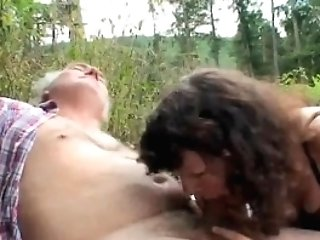 Outdoor Matures Duo Bang-out