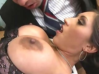 Flawless Beauty Uses Her Epic Tits And Silky Fuckbox To Fuck Hard.
