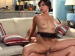 Non-traditional Dark Haired Matures Spreads Her Hairy Slit While...