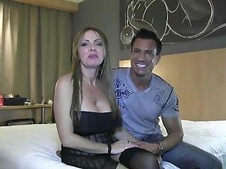 Chesty Matures Blonde In Stockings And High-heeled Slippers Takes...