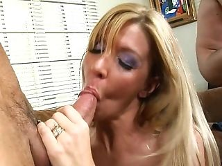 Hunky Hubby Gives Interchanged Wifey A Good Cunny Fucking While His...