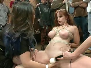 Big-chested Ginger Mom With Shinju Gets Her Cunt Fisted Constantly...