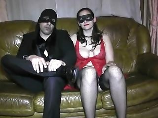 Master Predominates His Restrained And Ball-gagged Wifey And Makes...