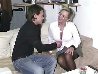Youthfull Boy Spunk Two Times At Fuck German Step Mom Nadja Summer