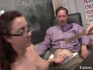 Supah Juggy Educator Shows Roxanne Rae How To Wank Off Hard Big Dick